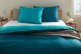 Posteljnina Belinda - petrolej/turkizna, tekstil (140/200cm) - Premium Living