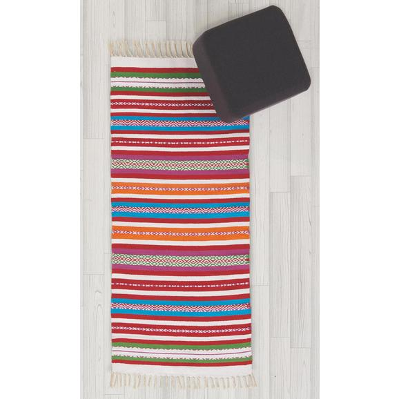 Teppich in Multicolor ca.70x140cm 'Marani' - Multicolor, Textil (70/140cm) - Bessagi Home