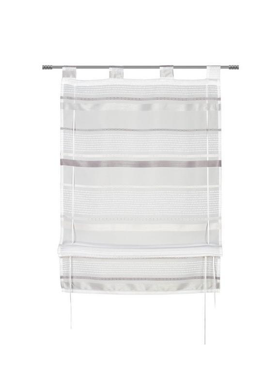 Bändchenrollo Adele in Grau, ca. 100x140cm - Grau, KONVENTIONELL, Textil (100/140cm) - MÖMAX modern living