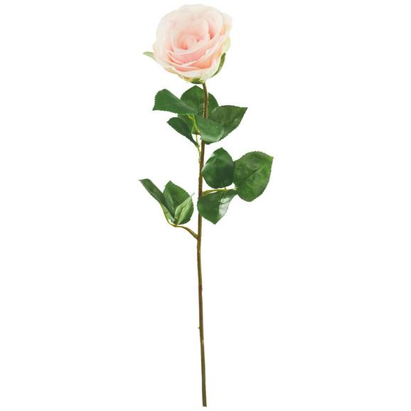 Umetna Roža Alfred - roza/zelena, umetna masa (69cm) - Mömax modern living