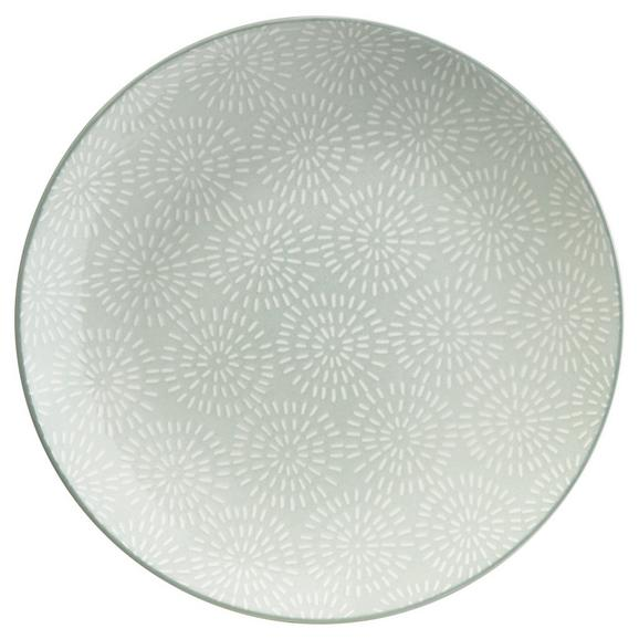 Farfurie Desert Nina - verde mentă, ceramică (20cm) - Modern Living