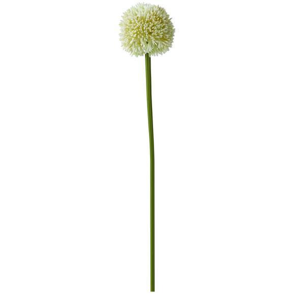 Umetna Roža Allium I - bela, Romantika, kovina/umetna masa (64cm)