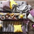 Odeja Alice - svetlo siva, Romantika, tekstil (150/180cm) - Zandiara
