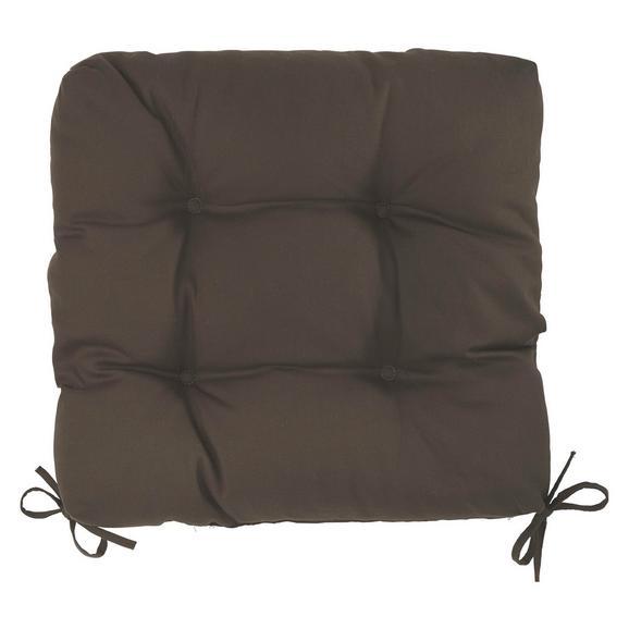Sedežna Blazina Elli-hit- - rjava, tekstil (40/40/7cm) - Based