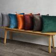 Kissen Malea ca.45x45cm in Rostfarben - Rostfarben, MODERN, Textil (45/45cm) - Mömax modern living