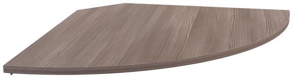 Kotna Povezovalna Plošča Profi - temno rjava, leseni material (98/2/98cm) - Mömax modern living