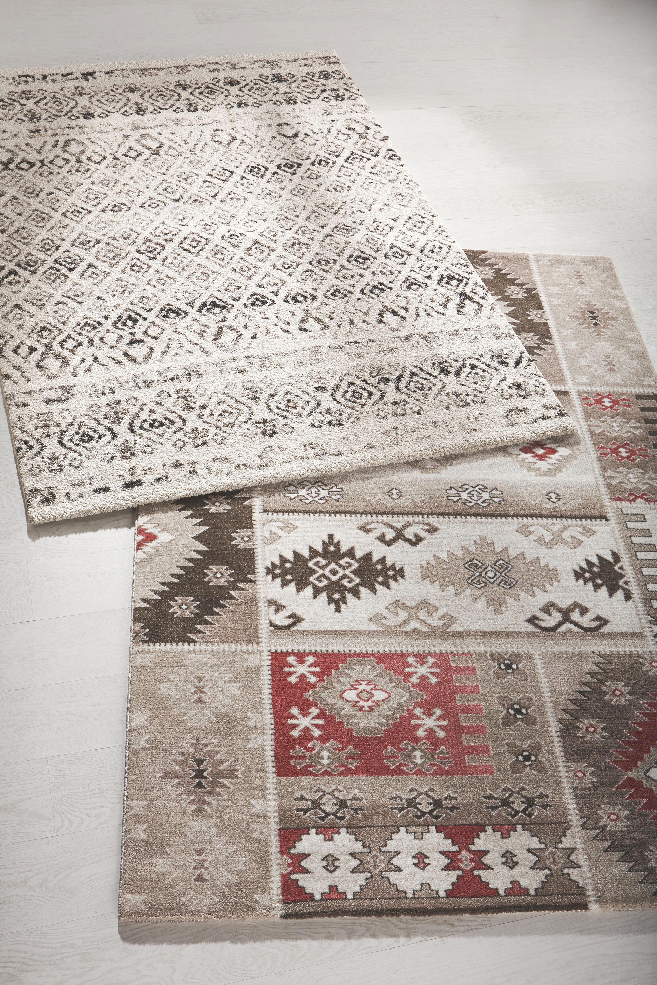 Webteppich Elegant - Creme, LIFESTYLE, Textil (80/150cm) - MÖMAX modern living
