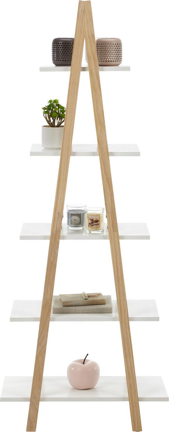 Regal in Weiß/Kieferfarben - Weiß/Kieferfarben, MODERN, Holz/Holzwerkstoff (60/150/30cm) - Mömax modern living