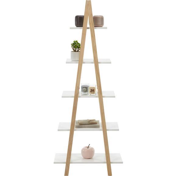 Regal Weiß/Kieferfarben - Weiß/Kieferfarben, MODERN, Holz/Holzwerkstoff (60/150/30cm) - Mömax modern living