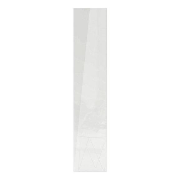 Tür in Weiß - Weiß, MODERN, Holzwerkstoff (45,4/202,6/1,8cm) - Based