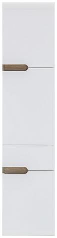 Hochschrank Weiß/Eiche/trüffel - MODERN, Holzwerkstoff (40/176/31cm) - Mömax modern living