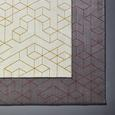 Tkana Preproga Berlin 1 - rdeča/temno siva, tekstil (80/150cm) - Mömax modern living