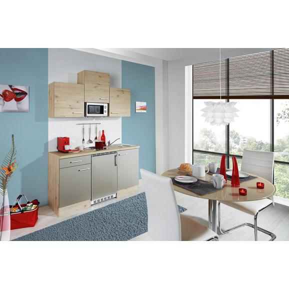 Kuhinjski Blok Riva - hrast, Moderno, leseni material (150cm)