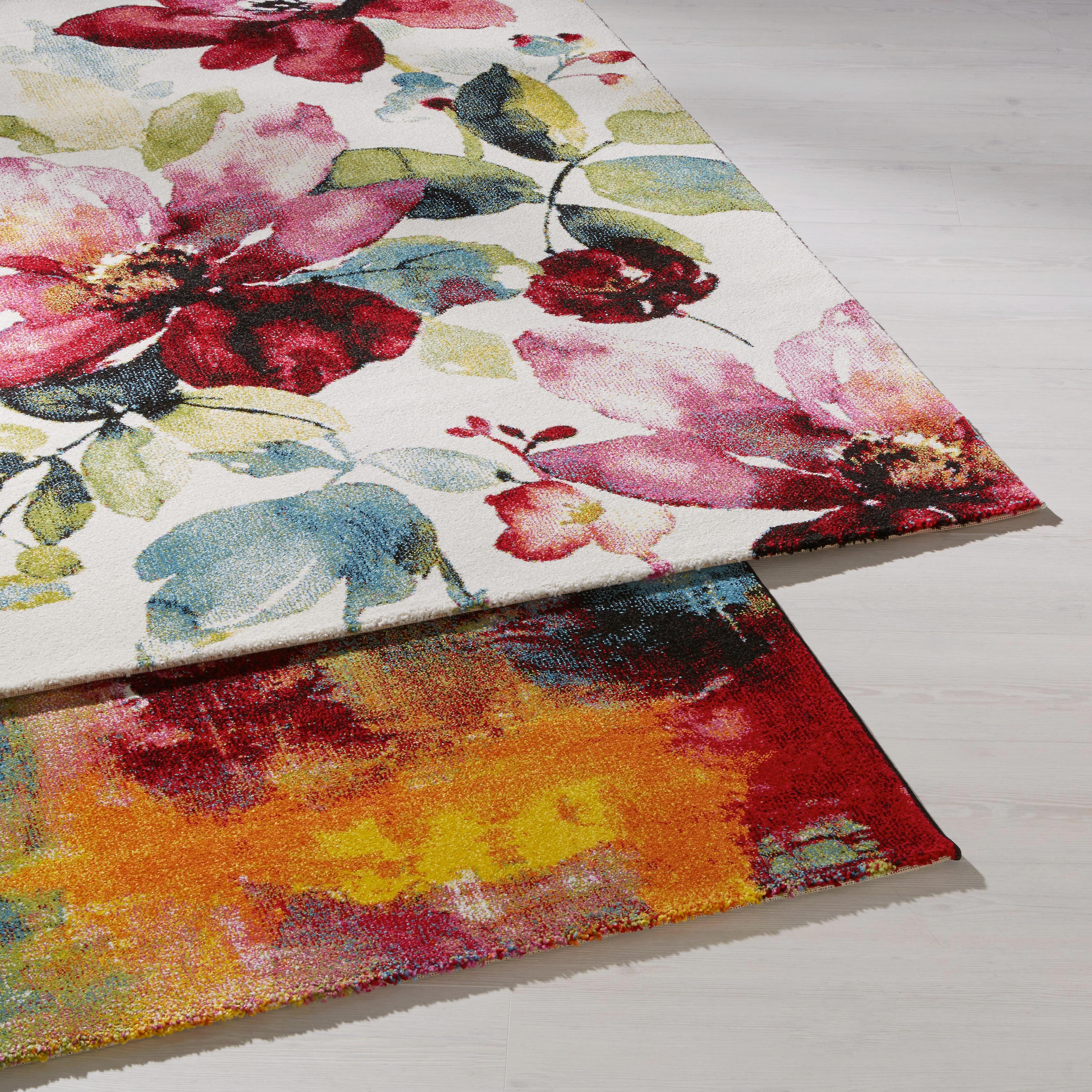 Szőnyeg Flower - multicolor, romantikus/Landhaus, textil (160/230cm) - MÖMAX modern living