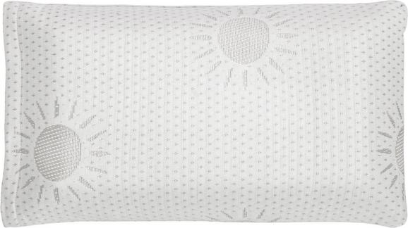 Nackenkissen in Weiß, ca. 23x42cm - Weiß, Textil (23/42cm) - MÖMAX modern living