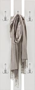 Wandgarderobe in Weiß - Weiß, MODERN, Holzwerkstoff (45/100/9cm) - Mömax modern living