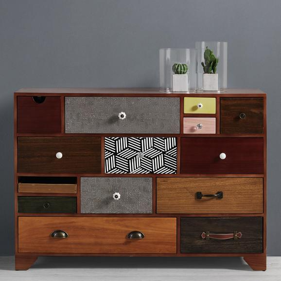 Sideboard Heather - Multicolor, MODERN, Holz/Keramik (115/81/38cm) - Mömax modern living