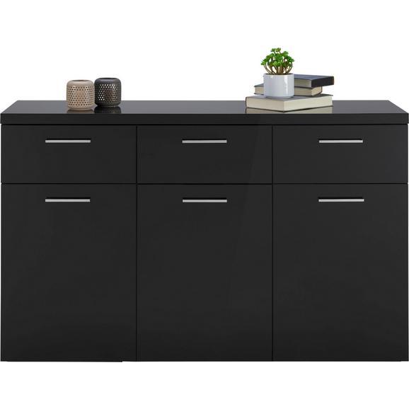 sideboard schwarz hochglanz online kaufen m max. Black Bedroom Furniture Sets. Home Design Ideas