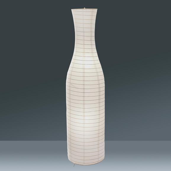 Állólámpa Simon - Fehér, konvencionális, Papír/Fém (34,5/125cm) - Mömax modern living