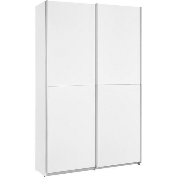 Dulap Multifuncțional Ohio - alb/culoare lemn stejar, plastic/lemn (120/190,5/42cm)