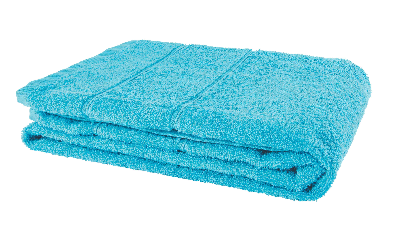 Törölköző Melanie - kék, textil (70/140cm)