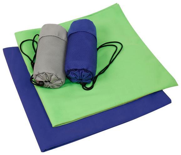 Športna Brisača Dominik - modra, tekstil (70/140cm) - Mömax modern living