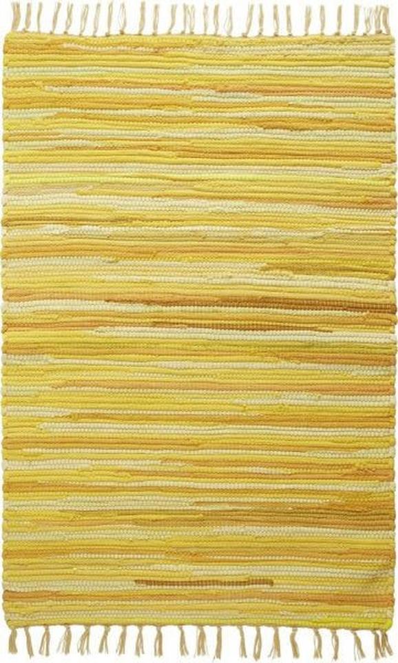 Krpanka Tonal 1 - rumena, Trendi, tekstil (60/120cm) - Mömax modern living