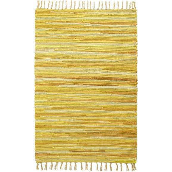 Patchwork Tepih Tonal 2 - žuta, Lifestyle, tekstil (70/200cm) - Mömax modern living