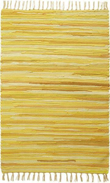 Rongyszőnyeg Tonal - sárga, Lifestyle, textil (60/120cm) - MÖMAX modern living