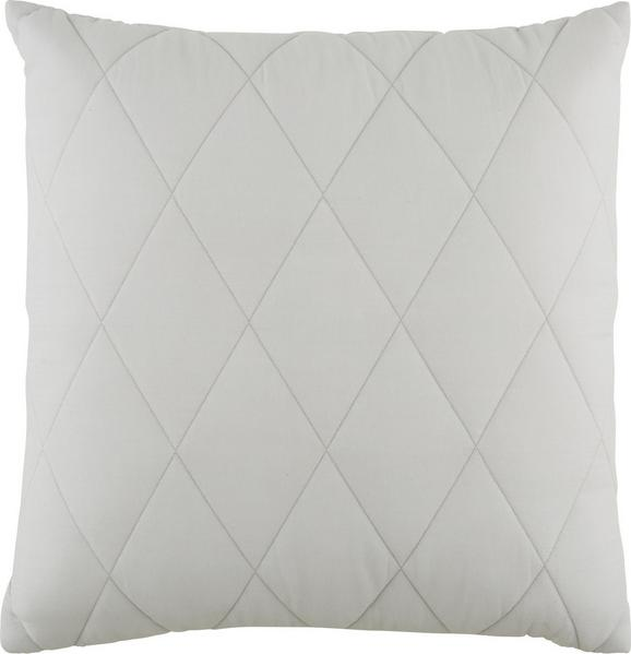 Okrasna Blazina Quilt - svetlo siva, Romantika, tekstil (45/45cm) - Mömax modern living