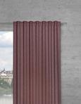 Fertigvorhang Kathrin Rosa 140x255cm - Rosa, ROMANTIK / LANDHAUS, Textil (140/255cm) - Premium Living