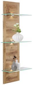 Wandpaneel in Eichefarben - Eichefarben, MODERN, Holzwerkstoff (38/110/20cm) - Modern Living