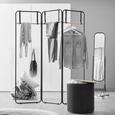Stativ De Haine Butler - culoare natur/negru, Lifestyle, lemn/metal (150/170/3cm) - Modern Living