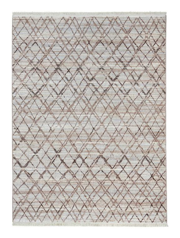 Webteppich Prestige Creme/Grau - Creme/Grau, Textil (80/140cm) - Mömax modern living