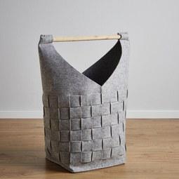 Korb Cui Höhe 65 cm - MODERN, Textil (30/30/65cm)