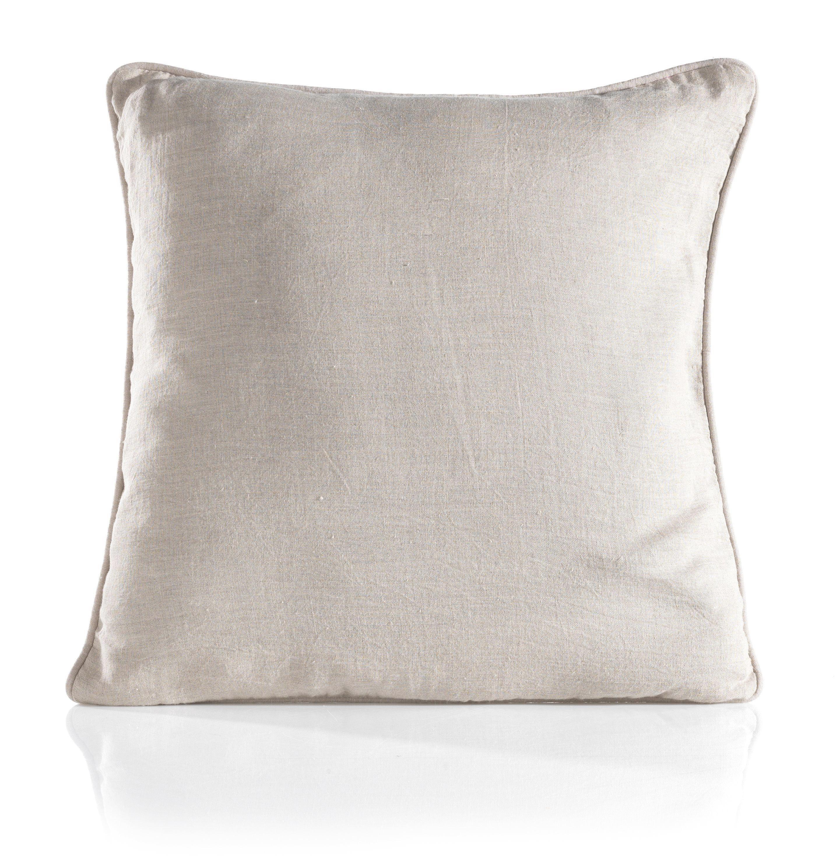Zierkissen Harald 50x50cm - Hellgrau, Textil (50/50cm) - MÖMAX modern living