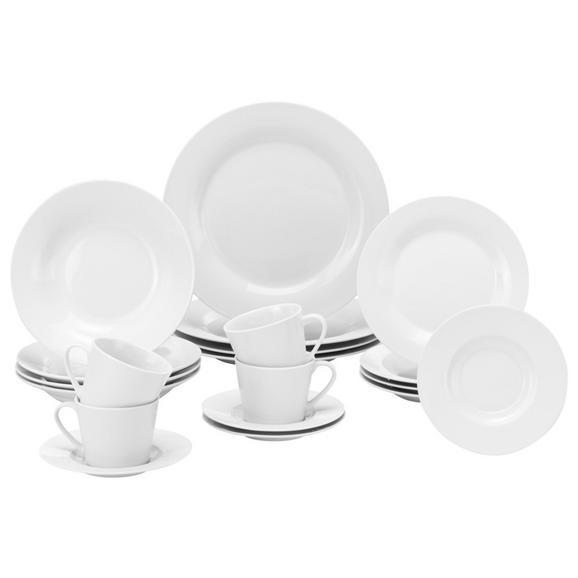 Serviciu De Masă Complet Lea -Based- -Top- - alb, Konventionell, ceramică - Based