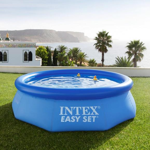 schwimmbecken easy set pool 305cm online kaufen m max. Black Bedroom Furniture Sets. Home Design Ideas