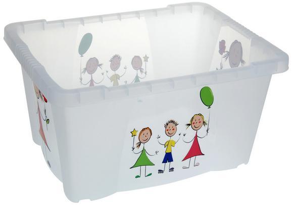 Box Kiddys in Weiß - Weiß, Kunststoff (35/45/23cm) - MÖMAX modern living