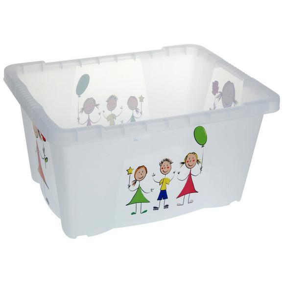 Box Kiddys Weiß - Weiß, Kunststoff (35/45/23cm)