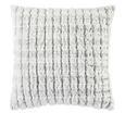 Zierkissen Gunter, ca. 45x45cm - Schwarz/Rosa, Textil (45/45cm) - Mömax modern living