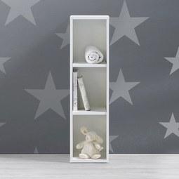 Kinderregal Olivia - Weiß, MODERN (25/93/32cm) - Modern Living