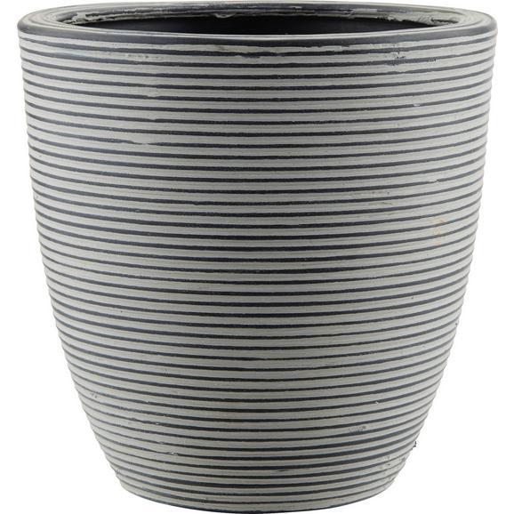 Vas Ornamental Pentru Ghiveci Marlene - negru, Lifestyle, plastic (26/26cm) - Modern Living