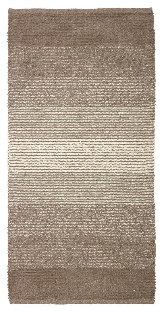 Fleckerlteppich Malto - Beige, MODERN, Textil (100/150cm) - MÖMAX modern living