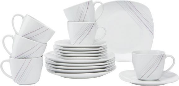 Kávés Szett Avenue - fehér, modern, kerámia (35,2/30,5/9,3cm) - MÖMAX modern living