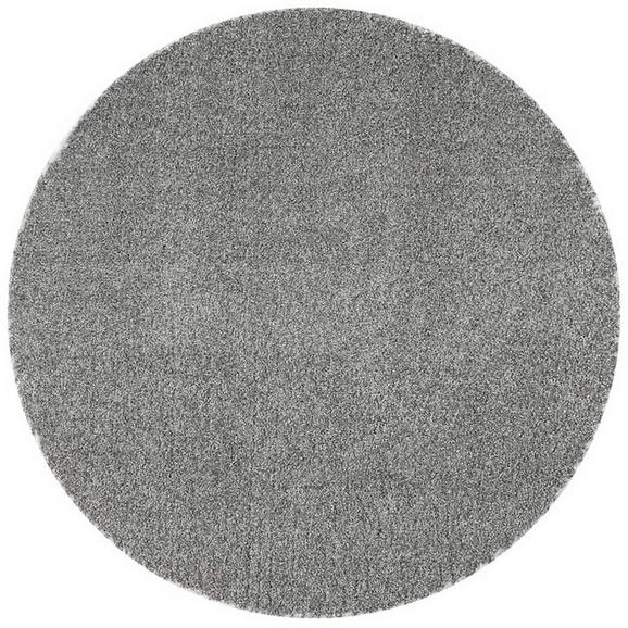 Webteppich Rubin in Grau, Ø ca. 200cm - Grau, ROMANTIK / LANDHAUS, Kunststoff (200cm) - Mömax modern living