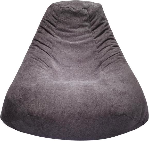 Sitzsack Grau - Grau, MODERN, Textil (85/90/85cm) - Modern Living