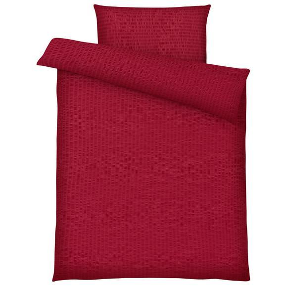 Lenjerie De Pat Brigitte - roșu, Konventionell, textil (140/200cm) - Modern Living