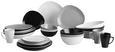 Servierplatte Nele aus Steinzeug in Grau - Grau, MODERN, Keramik (30,5/19,5/4,5cm) - Premium Living