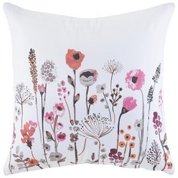Zierkissen Marlene in Weiß ca. 45x45cm - Multicolor/Weiß, ROMANTIK / LANDHAUS, Textil (45/45cm) - Mömax modern living
